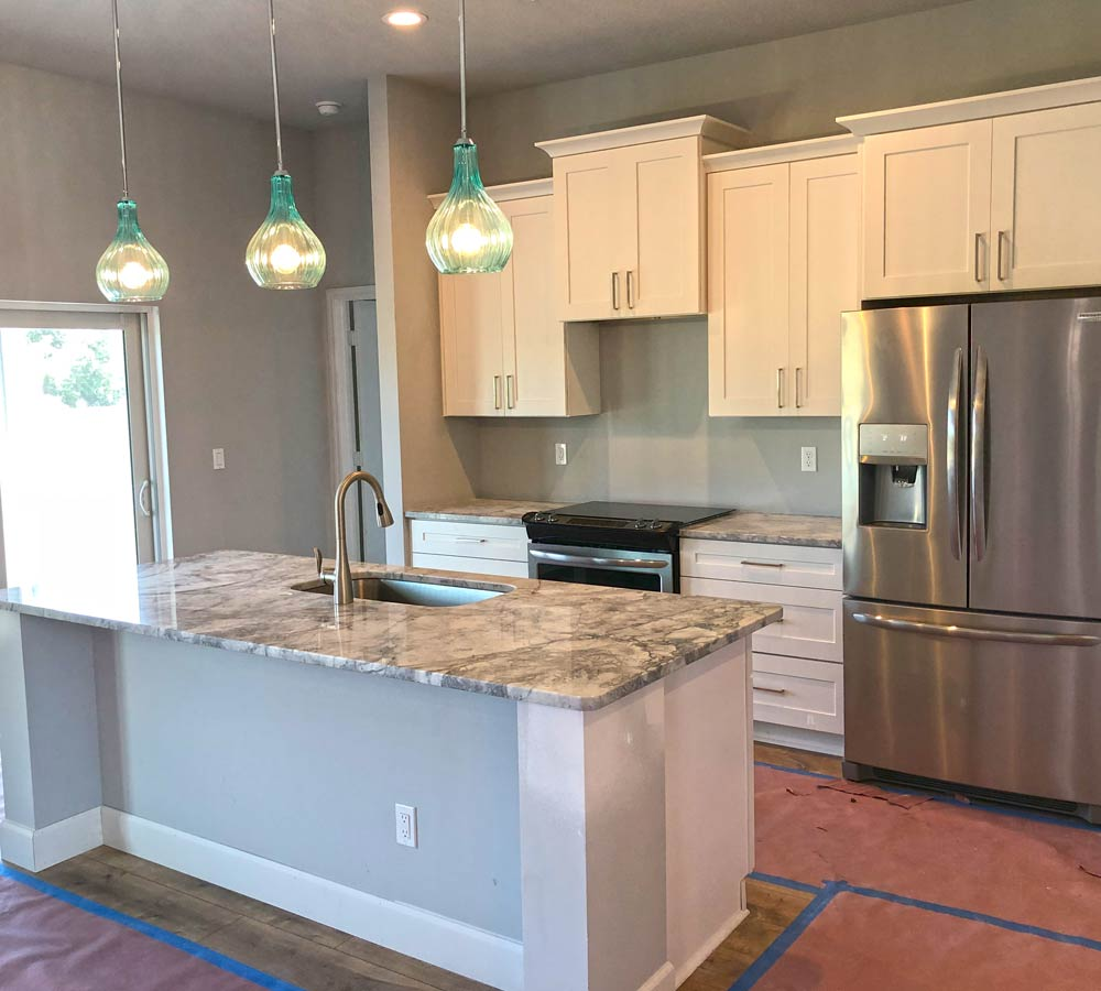 Kitchen Appliance and Countertop Installation
